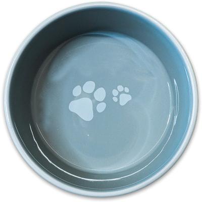 КерамикАрт Миска для собак лапки (фото, вид 2)
