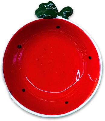 КерамикАрт Миска керамическая Арбузик (фото, вид 1)