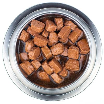 Мнямс Кусочки в соусе с говядиной и печенью для собак всех пород «Здоровые Суставы» (фото, вид 3)