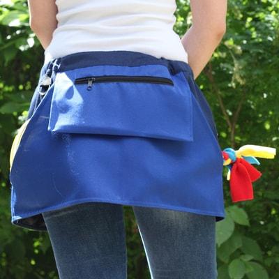 OSSO Сумка-юбка дрессировщика с карманами для лакомства, игрушек, фризби (фото, вид 1)