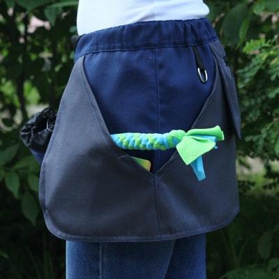 OSSO Сумка-юбка дрессировщика с карманами для лакомства, игрушек, фризби (фото, вид 2)