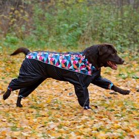 OSSO Дождевик для крупных пород собак на девочку (фото, вид 1)
