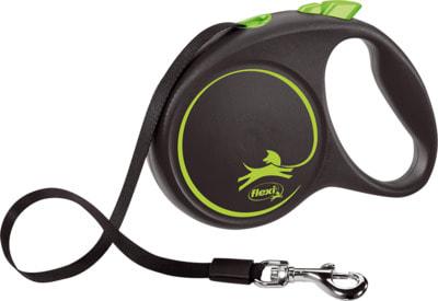 Поводок-рулетка flexi Black Design L, лента 5м, для собак до 50кг (фото, вид 5)