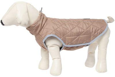 OSSO Жилет для крупных собак Коричневый стеганный (фото, вид 2)
