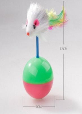 Антицарапки Игрушка для кошек Мышь-Неваляшка (фото, вид 1)