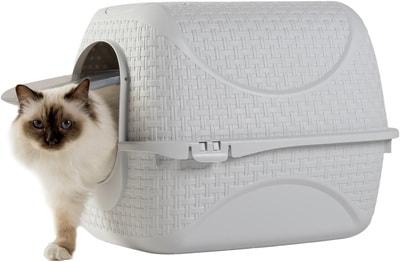Био-туалет BAMA PET для кошек Prive 42х50,5х39,6h см (фото, вид 4)