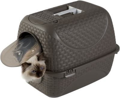 Био-туалет BAMA PET для кошек Prive 42х50,5х39,6h см (фото, вид 8)