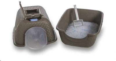 Био-туалет BAMA PET для кошек Prive 42х50,5х39,6h см (фото, вид 9)