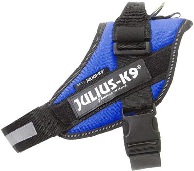 JULIUS-K9 Шлейка для собак IDC®-Powerharness, синий (фото, вид 1)
