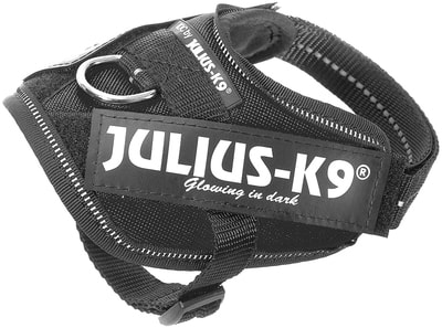 JULIUS-K9 Шлейка для собак IDC®-Powerharness, черный (фото, вид 1)