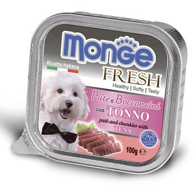 Monge Dog Fresh консервы для собак тунец (фото, вид 2)