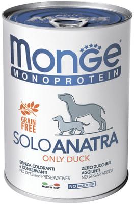 Monge Dog Monoprotein Solo консервы для собак паштет из свинины (фото, вид 5)
