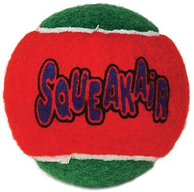 Kong Holiday игрушка для собак Теннисный мячик 3шт (фото, вид 2)