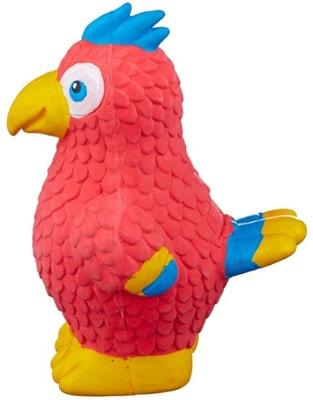 Kong Игрушка для собак Wiggi Попугай (фото, вид 1)