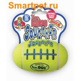 Kong Игрушка для собак Air Регби на основе теннисного мяча (фото, вид 3)
