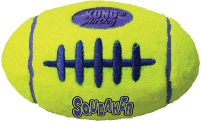 Kong Игрушка для собак Air Регби на основе теннисного мяча (фото, вид 1)