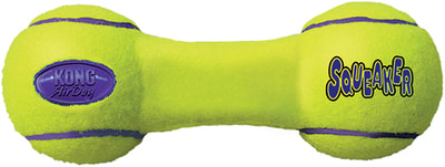 Kong Игрушка для собак Air Гантель (фото, вид 1)