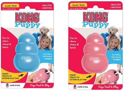 Kong Puppy игрушка для щенков классик (фото, вид 3)