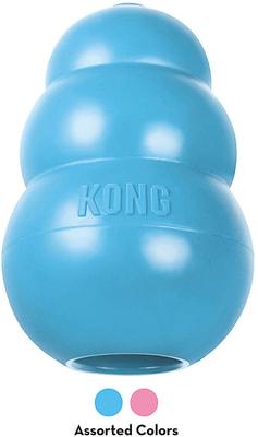 Kong Puppy игрушка для щенков классик (фото, вид 4)