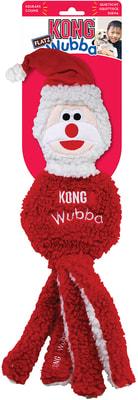 Kong Holiday игрушка для собак Вубба Санта (фото, вид 1)