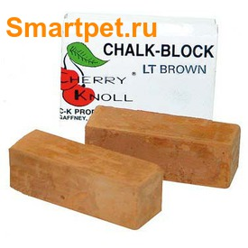 Cherry Knoll Мелок для подкраса шерсти животных, коричневый, 2шт (фото, вид 1)