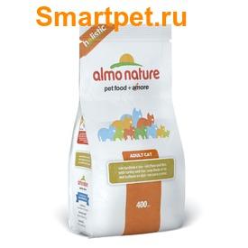 Almo Nature Сухой корм Для Взрослых кошек с Индейкой (фото, вид 1)