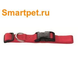 Hunter Smart ошейник для собак Ecco нейлон красный (фото, вид 1)