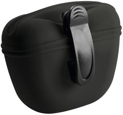 Hunter Сумочка для лакомств силиконовая антрацит (фото, вид 1)