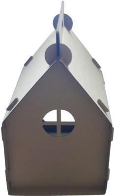 Антицарапки Картонный домик для кошек Теремок (фото, вид 1)