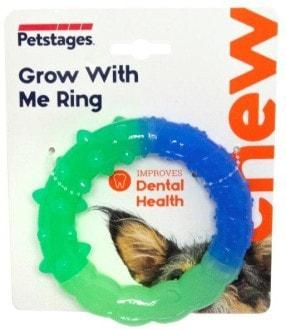 Petstages Игрушка для собак ОРКА кольцо - растем вместе мультиповерхность