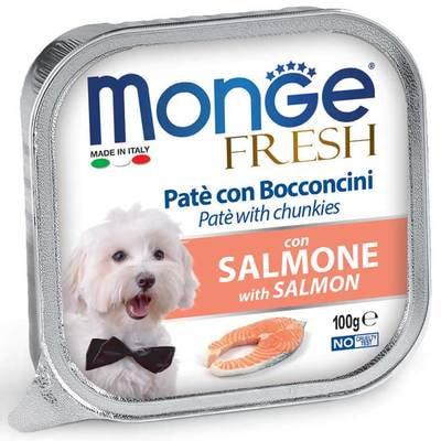 Консервы Monge Fresh Dog консервы для собак лосось (фото)