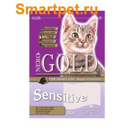Nero Gold Сухой корм Для Кошек с чувствительным пищеварением: Ягненок