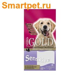 Nero Gold Корм Для собак с чувств. пищеварением с индейкой и рисом