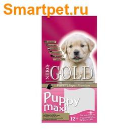 Nero Gold Сухой корм Для Щенков Крупных пород Курица и рис