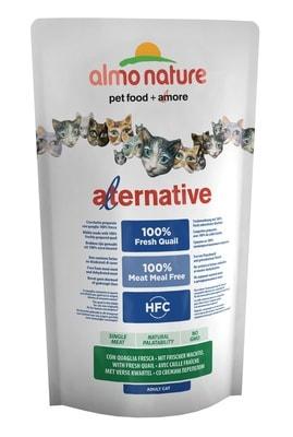 Сухой корм Almo Nature Alternative со свежей перепёлкой (50% мяса) для кошек