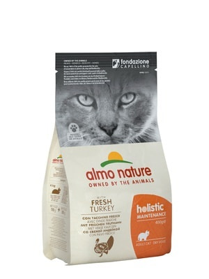 Almo Nature Сухой корм Для Взрослых кошек с Индейкой (фото)