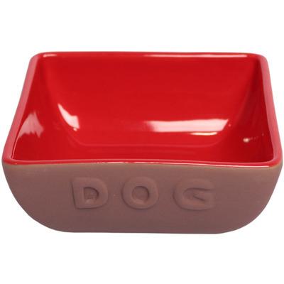 Lion Керамическая миска для собак DOG (фото)