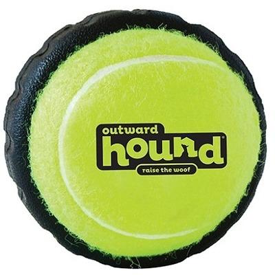 OH Игрушка для собак Теннисный мячик с шиной