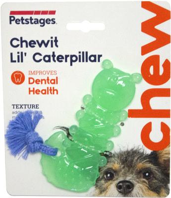 Petstages Игрушка для собак Mini ОРКА гусеница (фото)