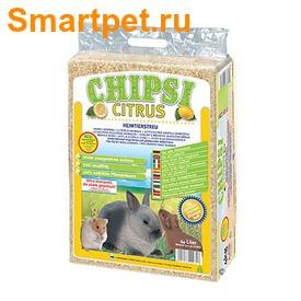 Chipsi Citrus Наполнитель древесный аромат. для грызунов