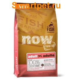 Now Natural holistic Беззерновой корм для собак с форелью и лососем для чувствительного пищеварения