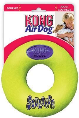 Kong Игрушка для собак Air Кольцо (фото)