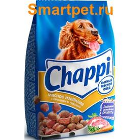 Chappi Сухой корм для собак Мясное изобилие (фото)