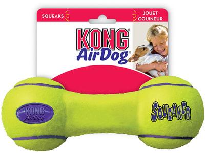 Kong Игрушка для собак Air Гантель (фото)