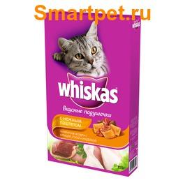 Whiskas Сухой корм для кошек подушечки/паштет Курица/Утка/Индейка