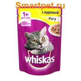 Whiskas Пауч для кошек Рагу Курица
