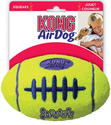 Kong Игрушка для собак Air Регби на основе теннисного мяча (фото)