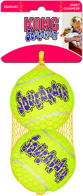 Kong Игрушка для собак Air Теннисный мяч большой (в упаковке 2 шт.) (фото)
