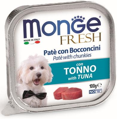 Monge Dog Fresh консервы для собак тунец (фото)