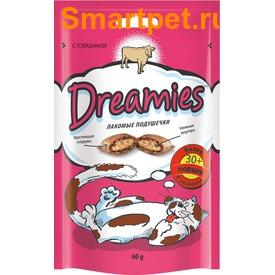 Dreamies Лакомые подушечки с Говядиной (фото)